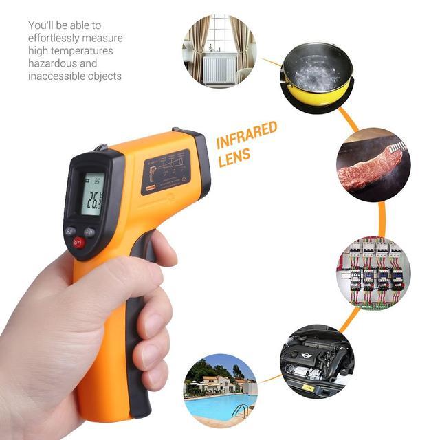 цифровой инфракрасный термометр пирометр
