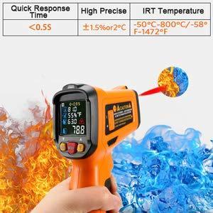 цифровой лазерный термометр пирометр
