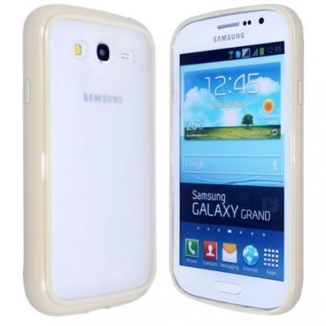 Чехол TPU Накладка для Samsung Grand dous i9082 Желтый