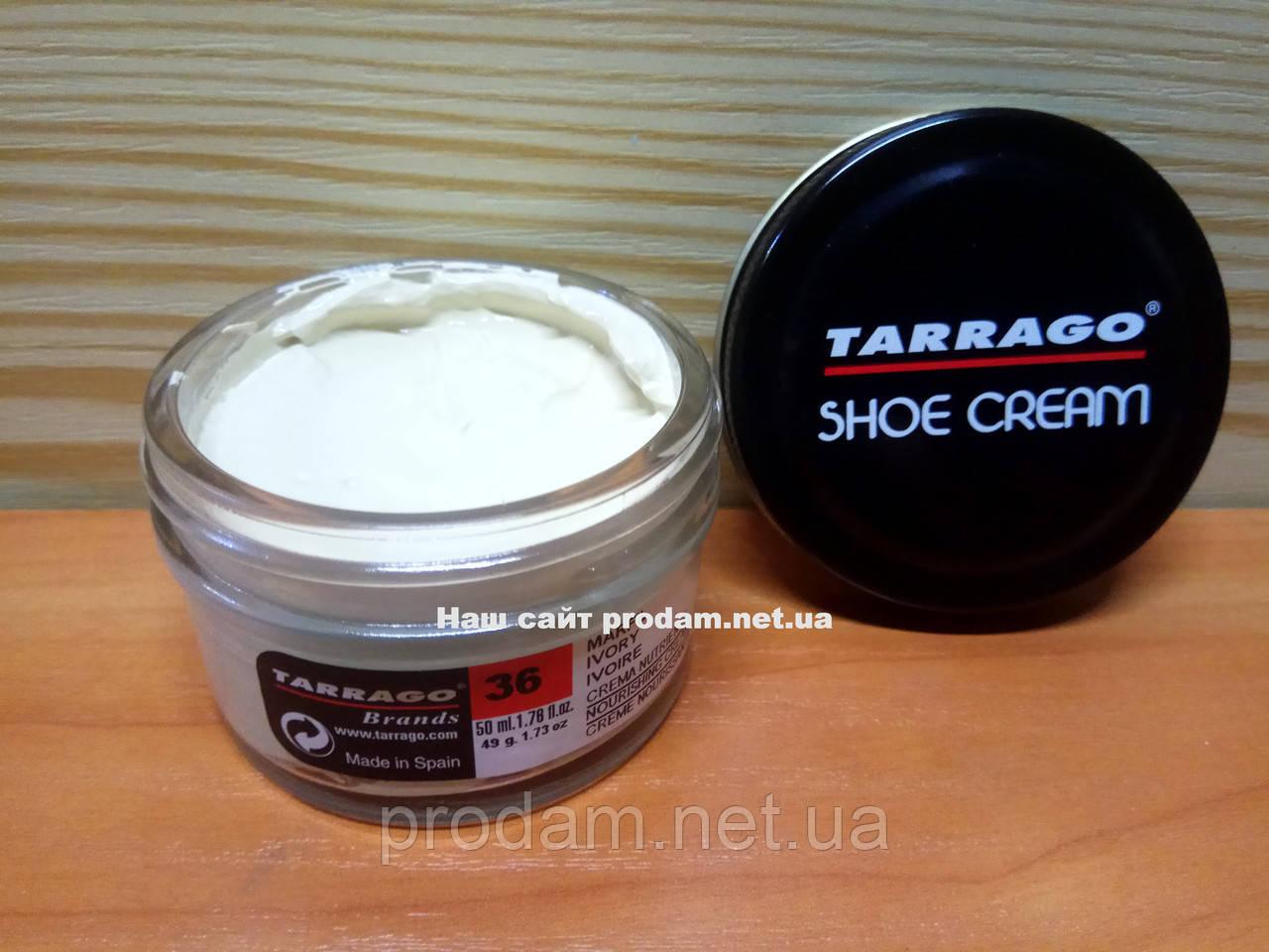 Крем для обуви Tarrago № 036-ivory