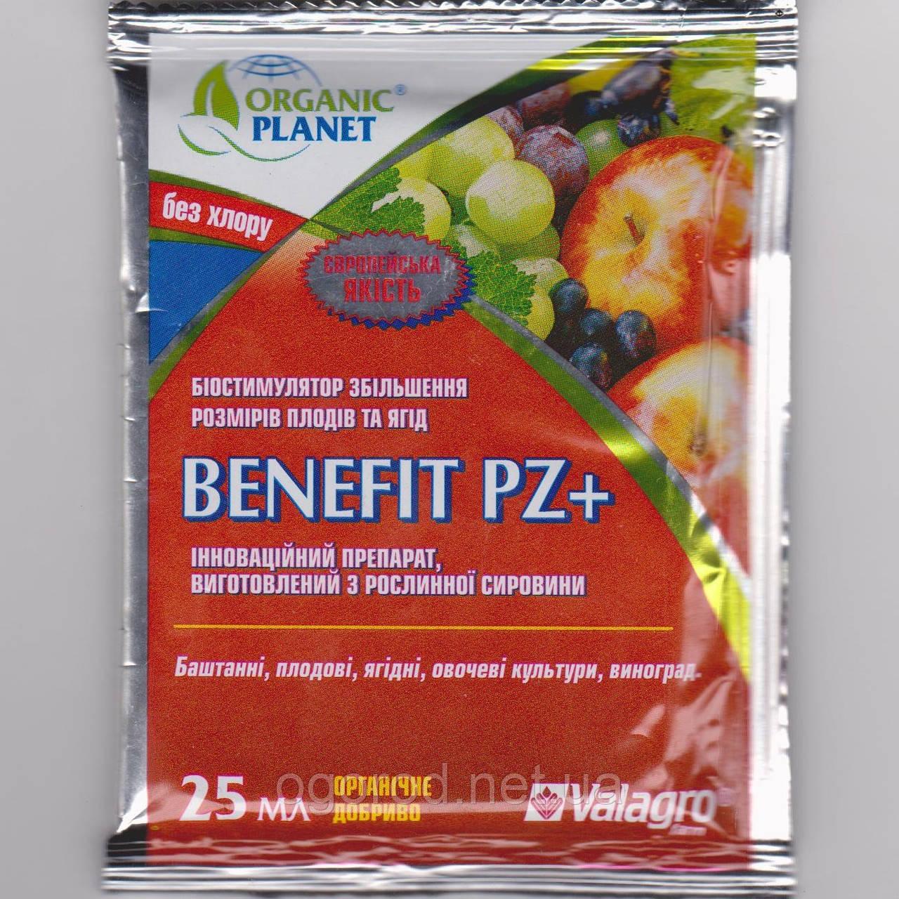 Бенефит 25 мл. биостимулятор увеличения размера плодов и ягод Valagro Италия