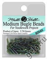 82045 бисер Mill Hill, Willow Medium Bugle Beads