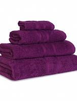 Махровое полотенце из 100% хлопка Слива