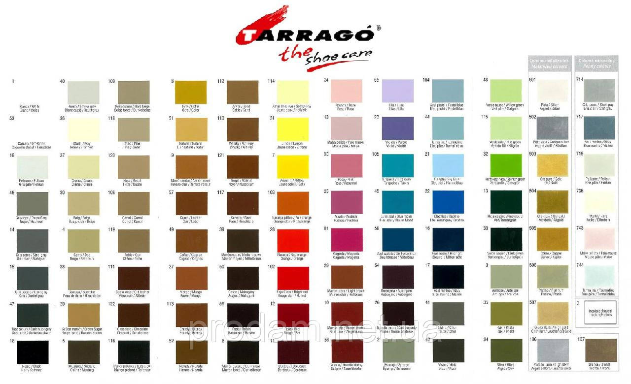 Крем для обуви Tarrago -№ 040-smoke gray