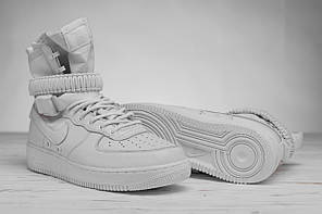Мужские кроссовки Nike белые топ реплика, фото 2