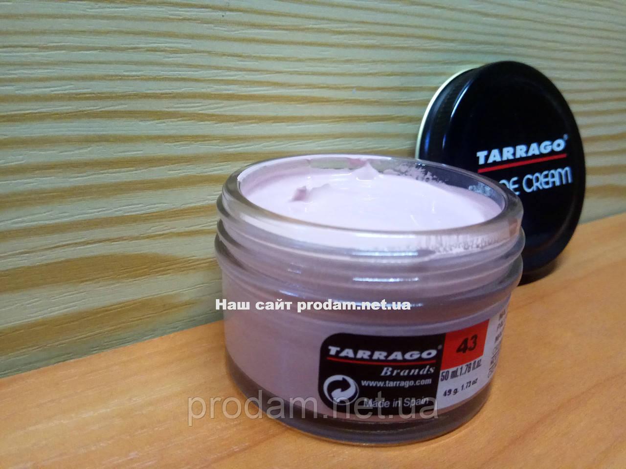 Крем для обуви Tarrago -№ 043-pale mauve