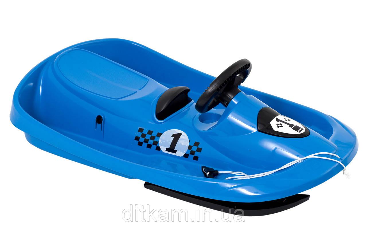 Санки Sno Formel (Hamax) голубые