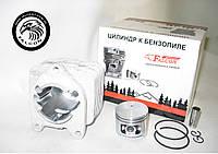 Цилиндр с поршнем Homelite, Baumaster, Ryobi (для бензокос) Хомелитэ, Райоби d=33.5 мм