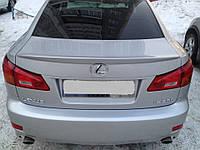 Спойлер багажника ( лип спойлер, сабля, утиный хвостик ) Lexus IS 250 2006-2012 г.в., фото 1