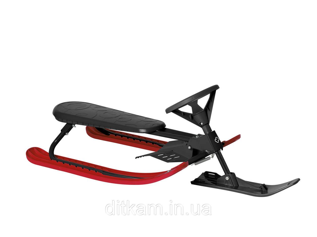 Снегокат DOWNHILL (Hamax) черный/красный