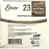 Струна Elixir 14123 Acoustic Nanoweb Phosphor Bronze .023 (акустика), фото 3