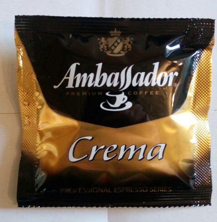 Кофе в чалдах (монодозах) Ambassador Crema 1шт.