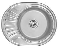 Мойка для кухни 0,6 мм Imperial 6044(06) Satin 160 мм нержавеющая сталь