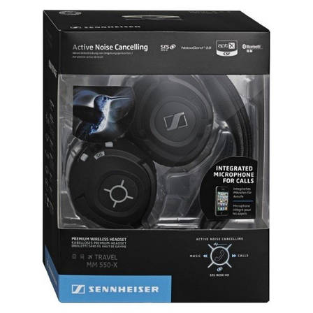 Гарнитура bluetooth Sennheiser MM 550-X (504515) EAN/UPC: 615104227750, фото 2