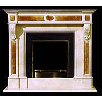 Каминный мраморный портал