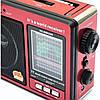 """Портативный радио приемник """"GOLON"""" RX-006UAR USB FM Красный, фото 3"""