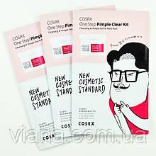 Трехступенчатый набор для очищения кожи и борьбы с высыпаниями COSRX One Step Pimple Clear Kit