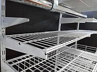 Полка сітчаста шириною 1206 мм глубиною 306мм для гардеробної системи зберігання Україна, фото 1