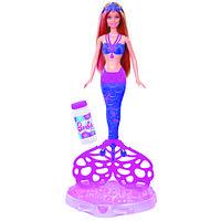 Кукла Barbie Русалочка «Сказочные пузыри».