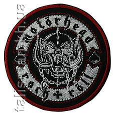 Нашивка с вышивкой MOTORHEAD Rock'N'Roll