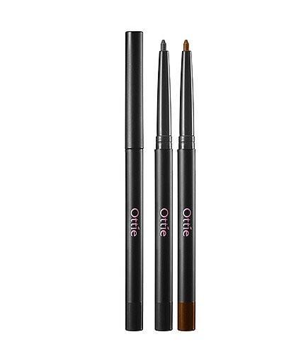 Водостойкий карандаш для глаз Ottie Waterproof Eye Liner Pencil #01 Black