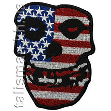 Нашивка с вышивкой MISFITS USA flag
