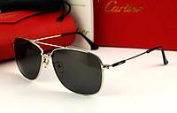 Солнцезащитные очки Cartier (0692) silver