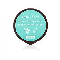 Мини-маска на основе семян торреи и чайного дерева Innisfree Capsule Recipe Pack Bija & Tea Tree