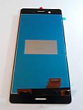 Дисплей Sony Xperia X F5121 / F5122 / F8131 / F8132 gold чип Synaptics orig, фото 2