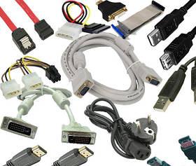 Адаптеры, шлейфы, переходники, USB удлинители, USB HAB, кардридеы.