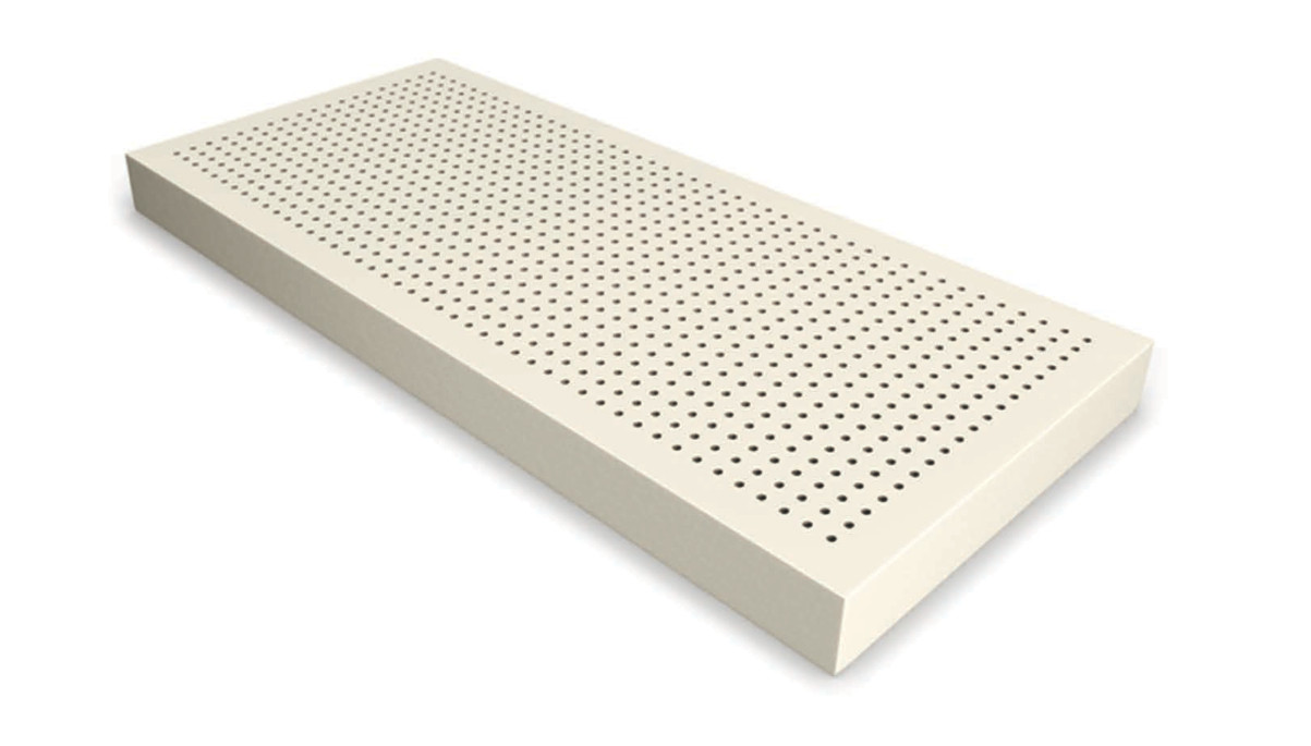 Латекс для матраса, латексный блок для матраса 80х200, высота 6 см., фото 1