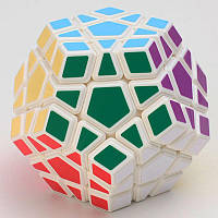 Логічна гра Мегамінкс Megaminx YongJun, Білий, в коробці