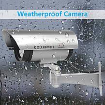 Муляж камеры видеонаблюдения Zclever LED мигающий красный свет, фото 2