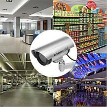 Муляж камеры видеонаблюдения Zclever LED мигающий красный свет, фото 3