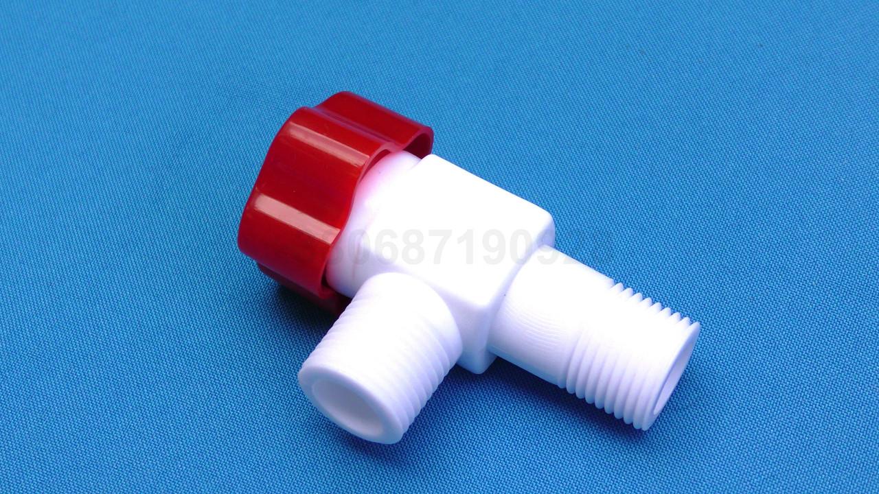 Кран пдключения приборов 1/2Нх1/2Н комплект горячий и холодный, фото 1