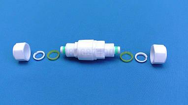 Зворотний клапан 16х16 клапан 1/2, фото 3