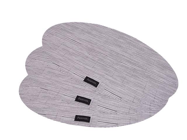 Комплект з 4-х сервірувальних килимків 45х30х0.2см полимеровый на обідній стіл Fissman