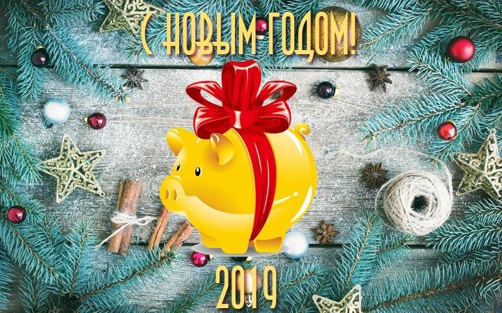 С Новым годом и Рождеством 2019!