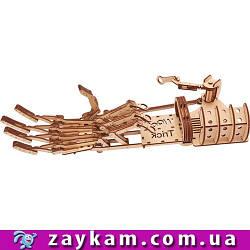Рука 00008 - деревянный 3D пазл Wood trick (механический деревянный конструктор)