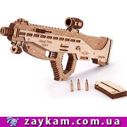 Автомат USG 2 00025 - деревянный 3D пазл Wood trick (механический деревянный конструктор)