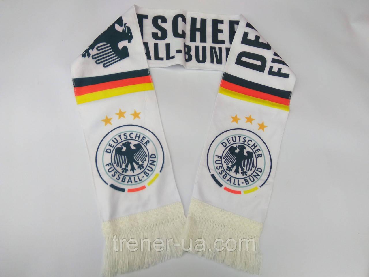 Шарф для футбольного фаната сборной Германии
