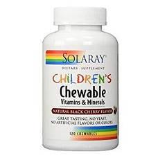 Сладкие жевательные витаминные таблетки