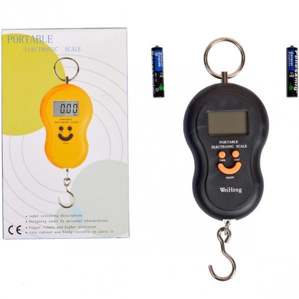 Весы ручные «смайл» 5 кг 11,5×7,5×2,5 см                                      DJ-60