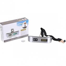 Весы портативные электронные для багажа 50 кг, 13×3×3 см                       CW-014