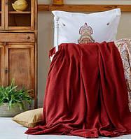 Karaca Home ранфорс Paula kiremit 2019-1 евро комплект постельного белья с пледом, фото 1