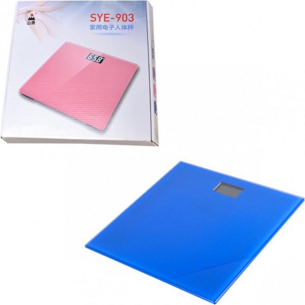 Весы напольные бытовые 903, 5–180 кг 28×28×2,3 см             903/YEP 41