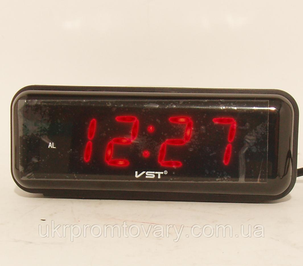 Настольные часы VST 738 Красные