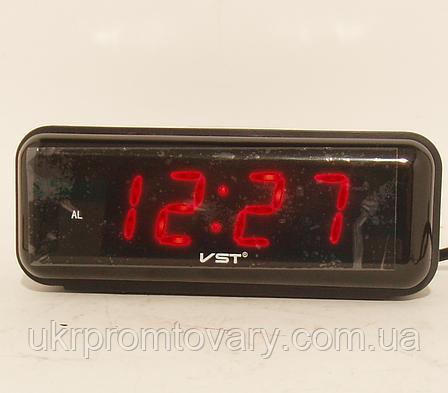 Настольные часы VST 738 Красные, фото 2