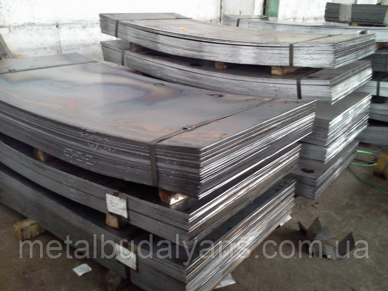 Лист сталевий ст. 30ХГСА 50,0х1500х6000мм