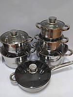 Набор посуды Bohmann BH 1275 MRB 12 предметов